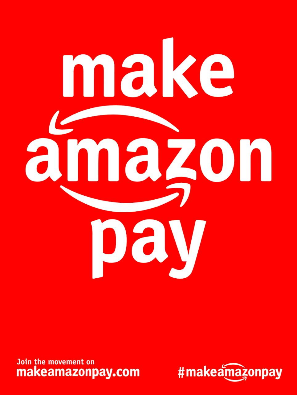 Make Amazon Pay | Download the #MakeAmazonPay Pack