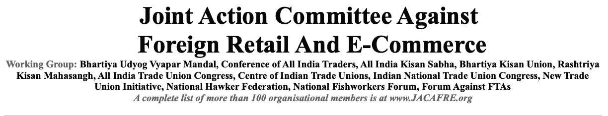 Joint Action Committee against Foreign Retail and E-commerce (India)